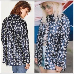 Zara Star Sequins Blazer